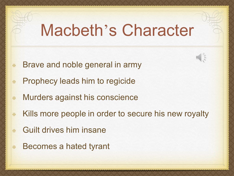 Macbeth - Evil Tyrant or Man of Conscience? Case Study